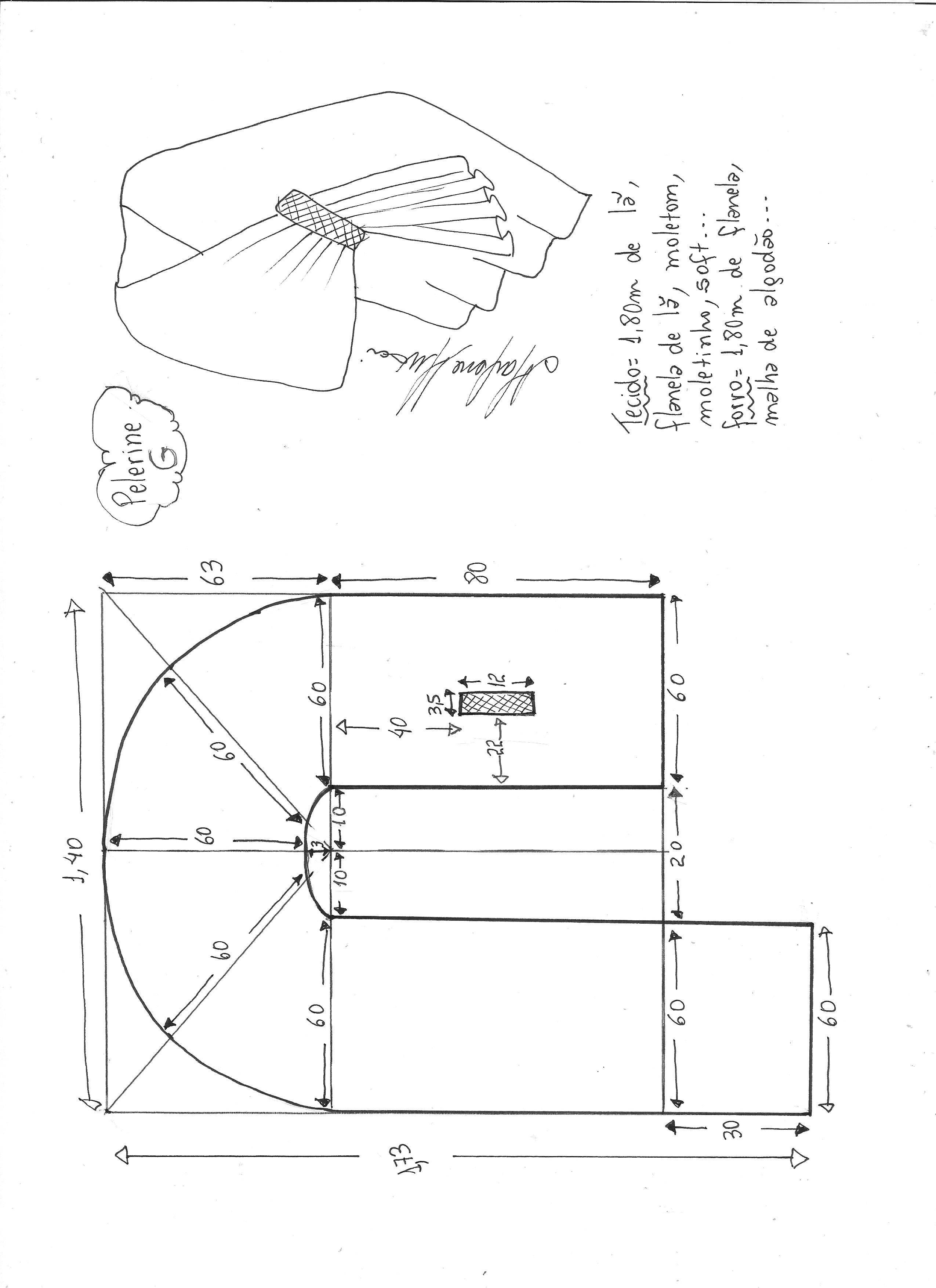 Pin de nadia saab en Sewing patterns   Pinterest   Costura, Capa y ...