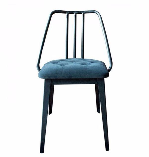 Silla para restaurante de estilo industrial con asiento for Sillas estilo industrial baratas