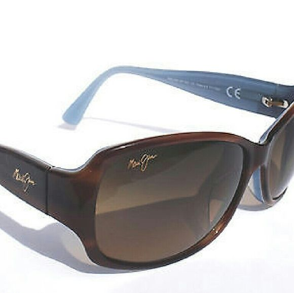 de619a367e2 Maui Jim sunglasses New and Authentic Maui Jim sunglasses Brown and blue  frame Comes with a regular no name case Maui Jim Accessories Sunglasses