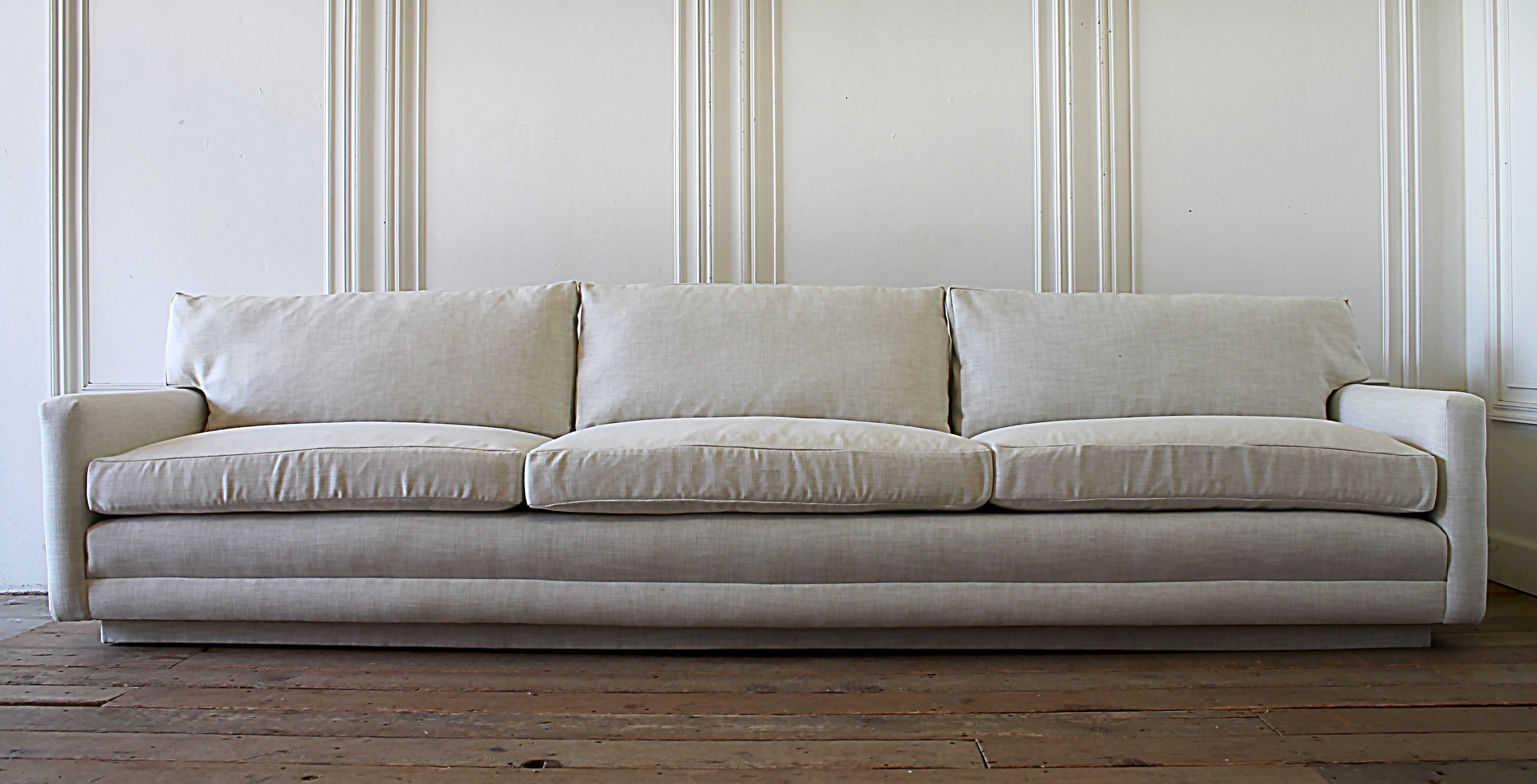mid century modern 10 foot sofa