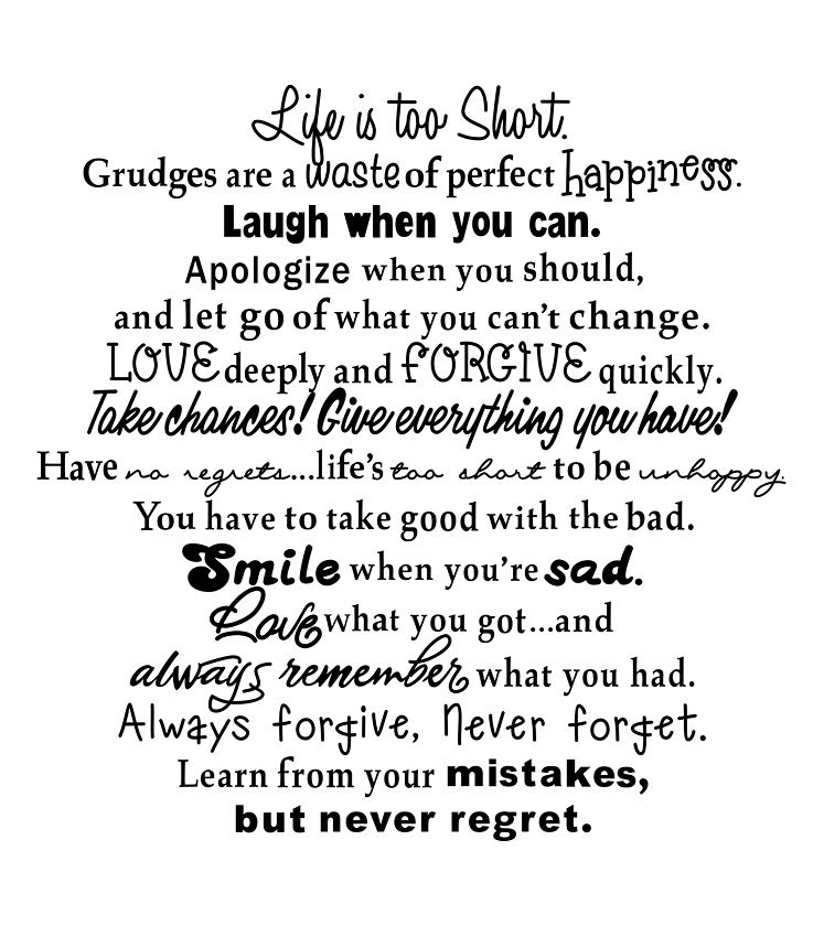 Life is too short Life is too short quotes, Daily