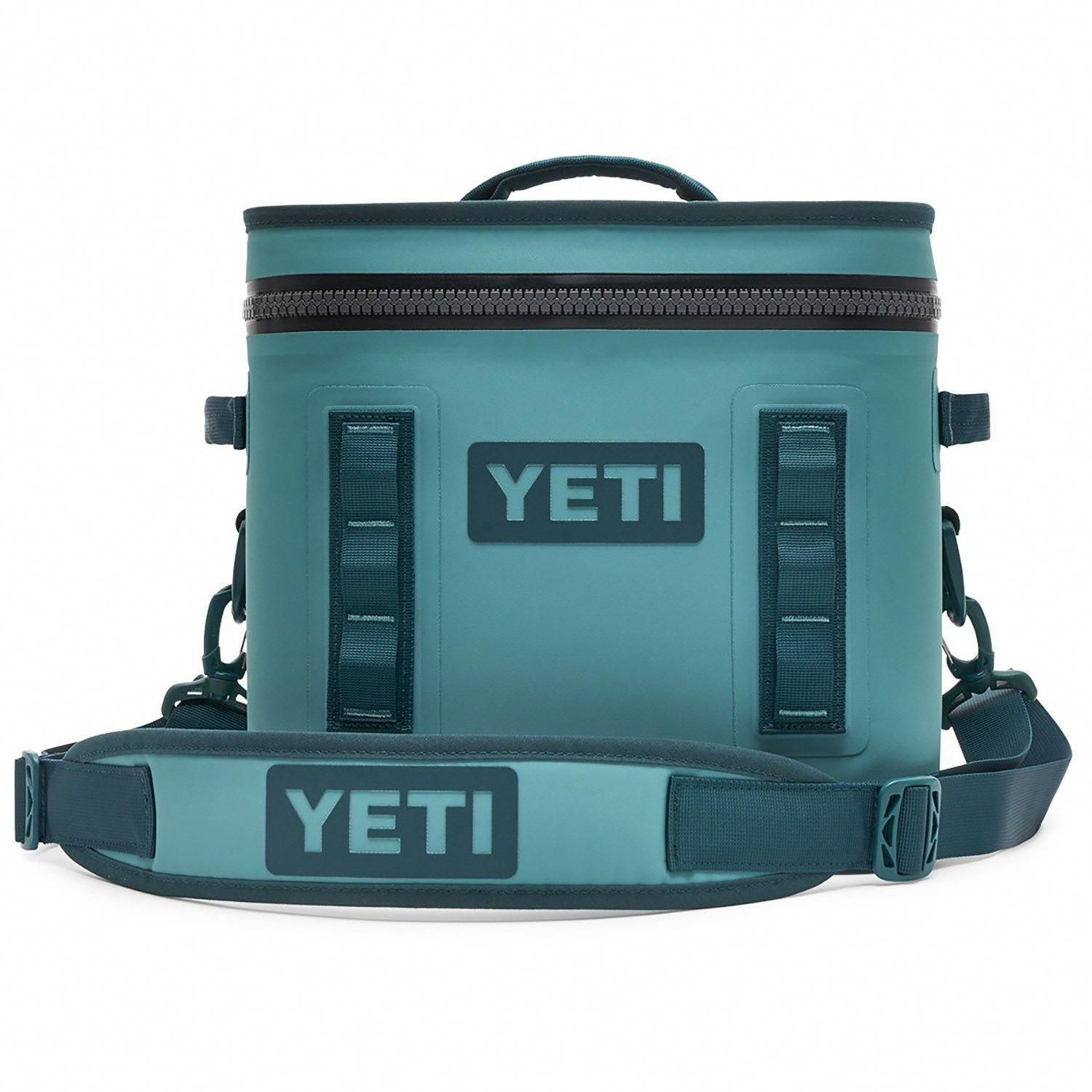 Yeti Hopper Flip 12 Cooler With Top Handle 2019 In Green In 2020 Soft Cooler Portable Cooler Yeti