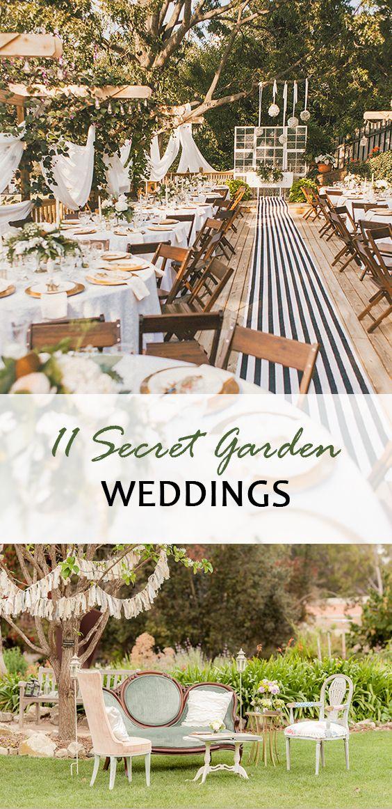 11 Secret Garden Weddings Wedding Themes Pinterest Wedding