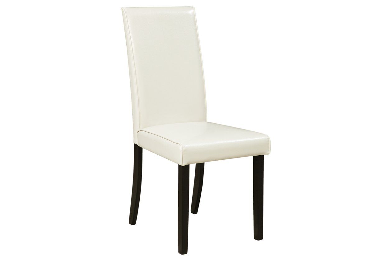 Kimonte Dining Room Chair Ashley Furniture Homestore White