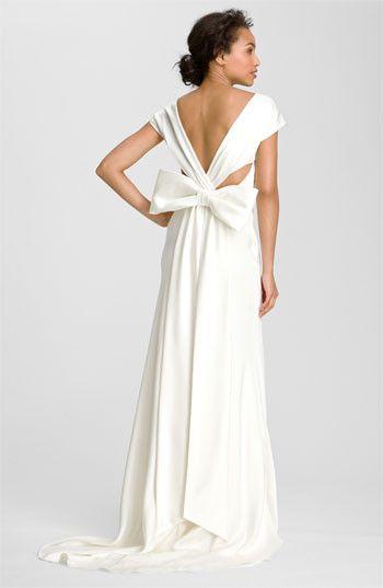 Nicole Miller Cassondra Fa0006 Charmeuse Wedding Dress Bridal Gowns Gowns Of Elegance