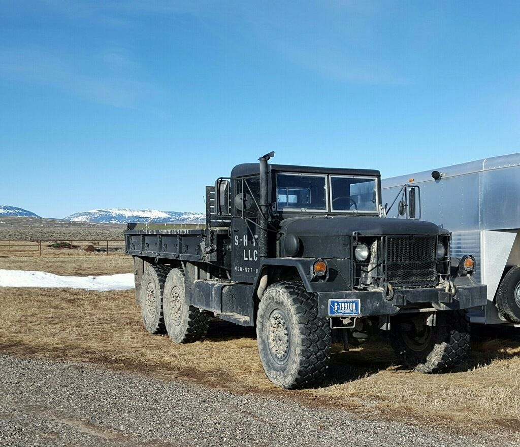 1987 M35a2 Deuce And A Half 25 Ton Truck Military Vehicles For