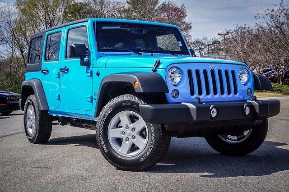 New 2017 Jeep Wrangler 4WD Unlimited Sport in DALLAS GA