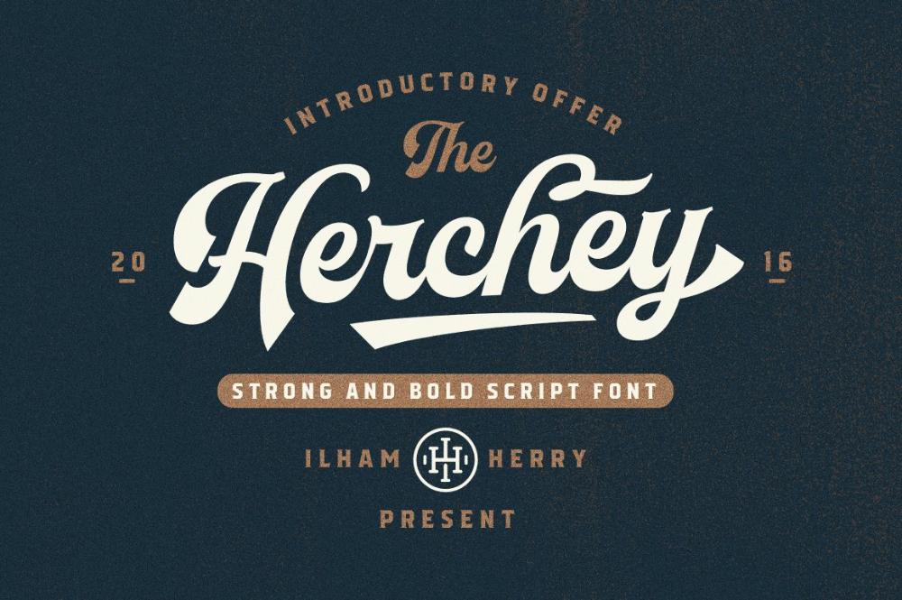 Herchey Script 50 Off In 2020 Script Fonts Bold Script Font Baseball Font