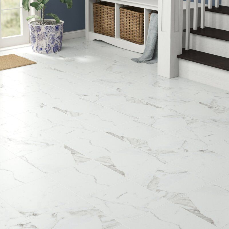 12 X 12 Porcelain Field Tile In Statuarietto In 2020 Porcelain Tile Floor Living Room Stone Tile Flooring Tile Floor Living Room