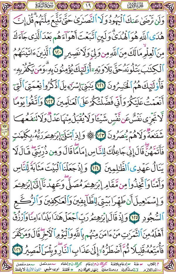 سورة البقرة صفحة رقم 19 Quran Verses Quran Verses