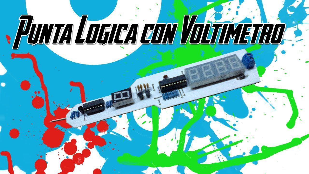 Electrnica Y Circuitos El Multimetro Digital Su Testing Circuit With Multimeter Stock Image 20315121 Tutorial Electronica Utiles Punta Logica Con Voltimetro