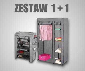Promocja Szafa Materialowa Szafka Na Buty Szara 3599400501 Oficjalne Archiwum Allegro Locker Storage Storage Lockers