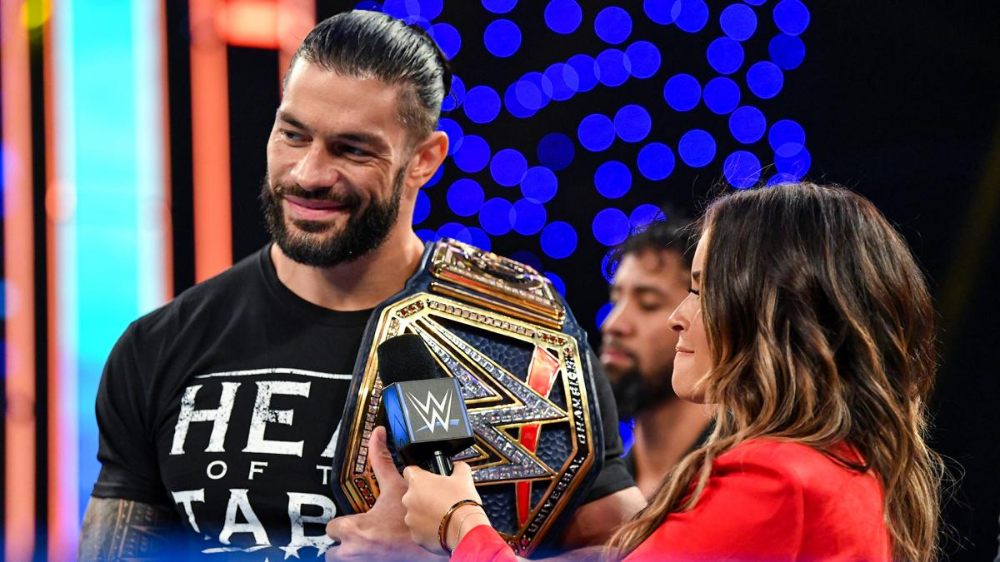 Photos Don T Miss These Awe Inspiring Images From The Blue Brand In 2021 Wwe Superstar Roman Reigns Roman Reigns Wrestling Wwe Roman Reigns