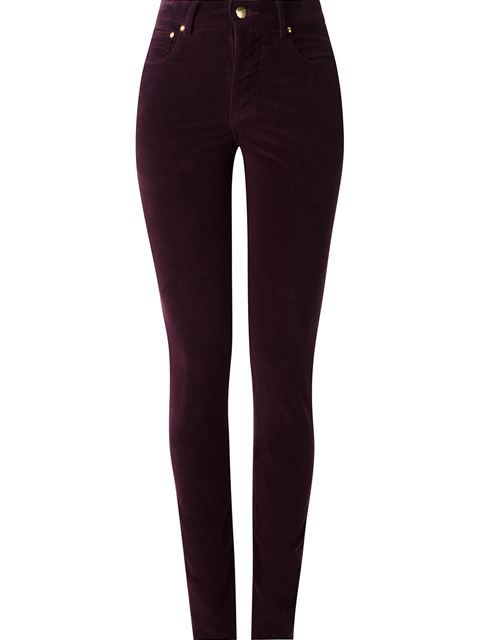 5711ef2d3 Amapô Calça skinny cintura alta de veludo Jeans Skinny Feminino, Marcas De  Roupas, Roupas