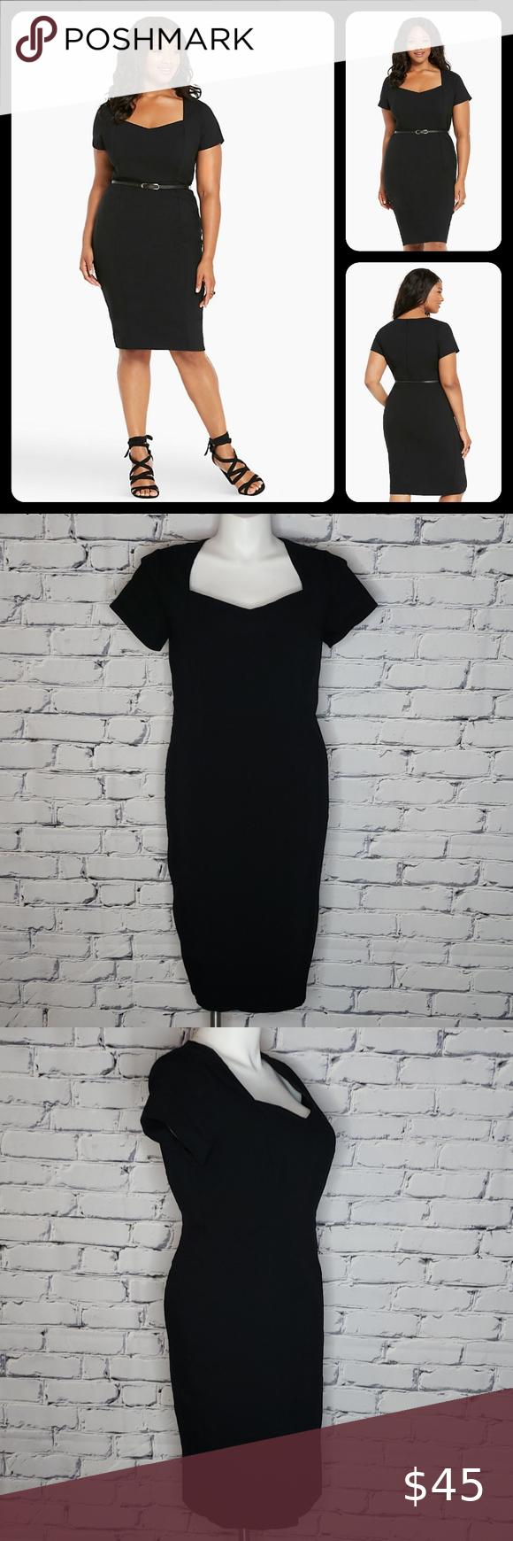 Torrid Little Black Dress Little Black Dress Black Dress Workwear Dress [ 1740 x 580 Pixel ]