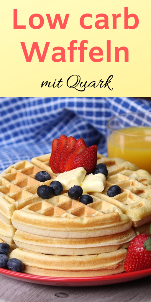Photo of Low carb waffles with curd cheese – in under 10 minutes! – Life hero