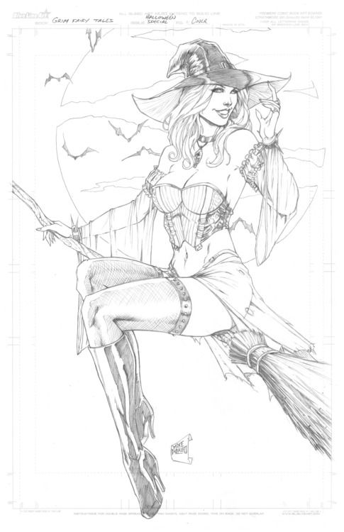 Grimm Fairy Tales Halloween Special #1 Pencils by Mike