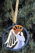 Hand Painted Angel Ornaments - Bing Images