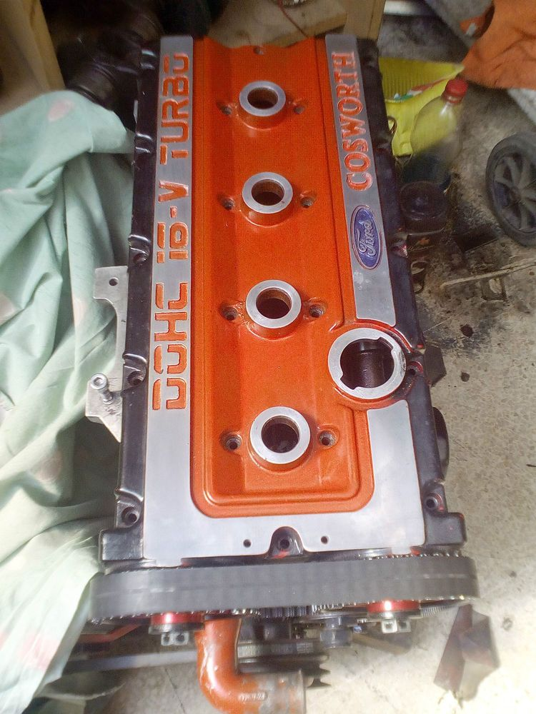 Ford Sierra 2wd Rs Cosworth Yb Top Cover Cam Rocker Cover Ford