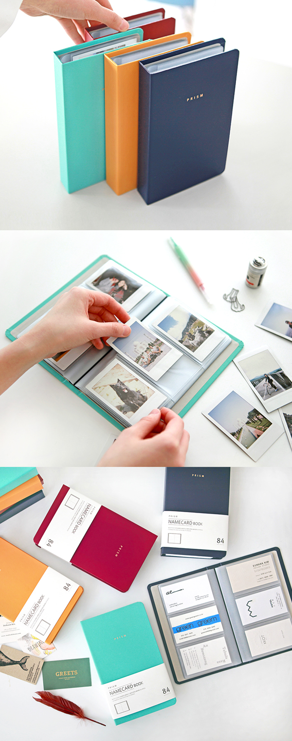 Organize your important business cards with the Prism Business Card ...