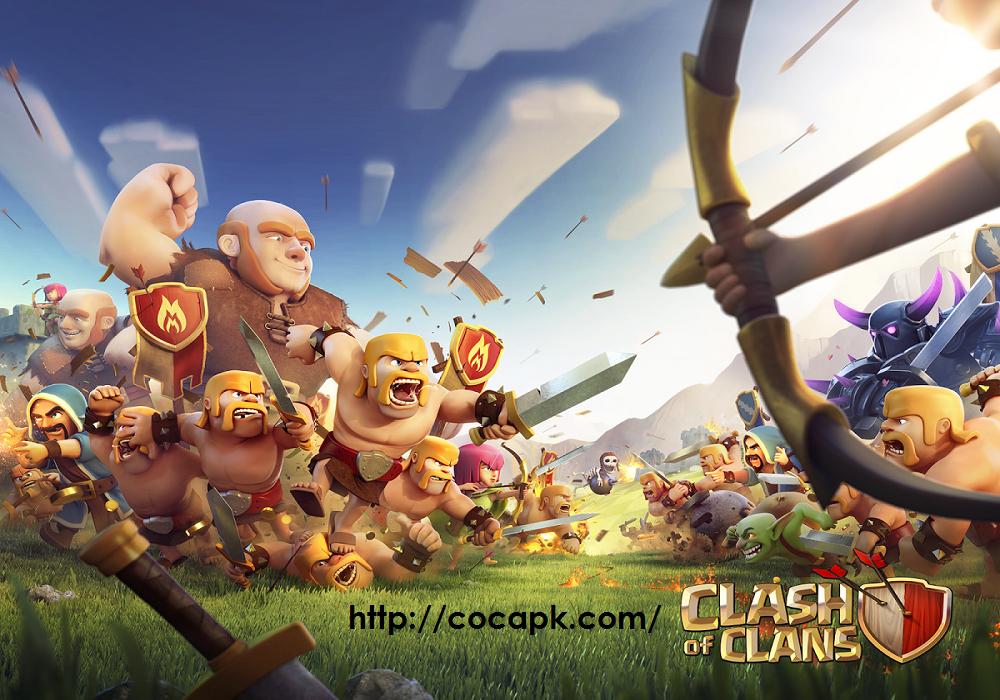 Clash of Clans Mod APK v8 332 16 Free Download   coc apk   Clash of