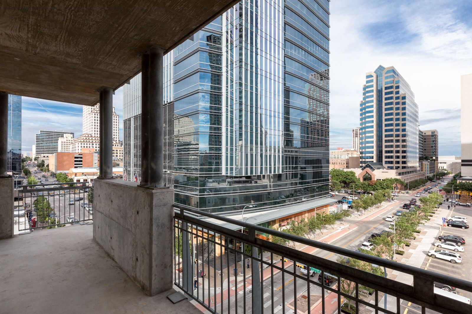 Have a view of downtown Austin from your own private