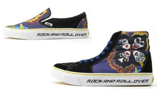 99dc0b7cab Vans Releases KISS Pack Sneakers for Rockstars  hightops  shoes  trendhunter.com