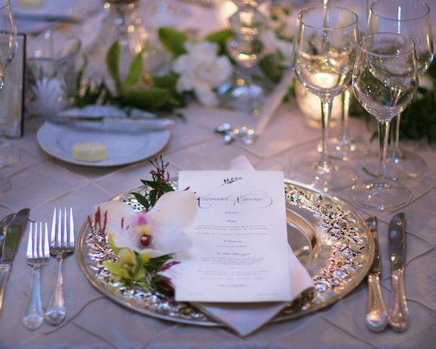Simple Romantic Table Decorations
