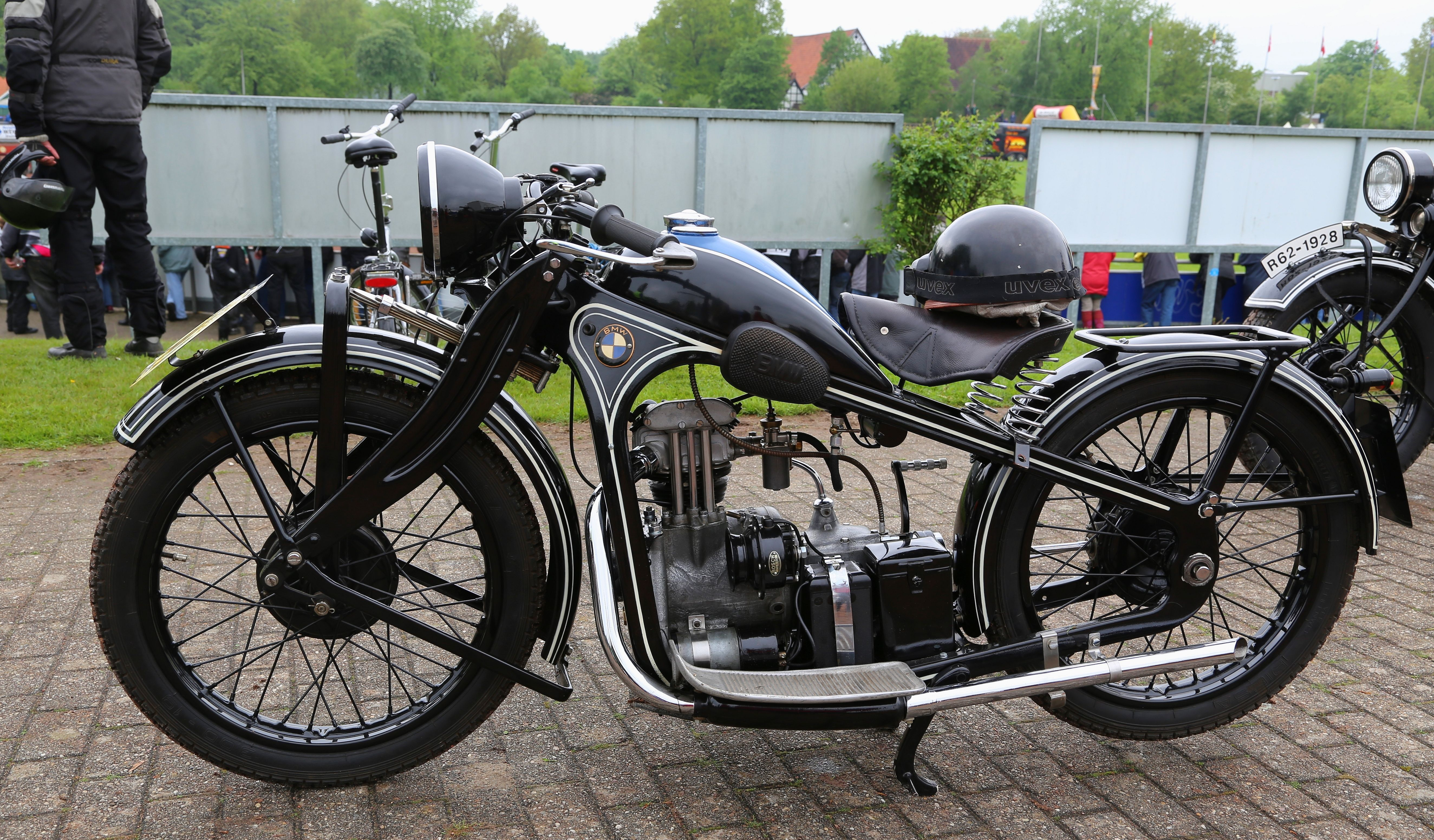 bmw r62 (1928) single cylinder. could be operated in germany