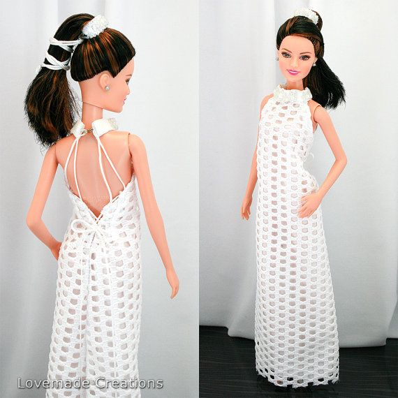 Barbie Dress blanc dentelle de mariage robe par LovemadeByMari