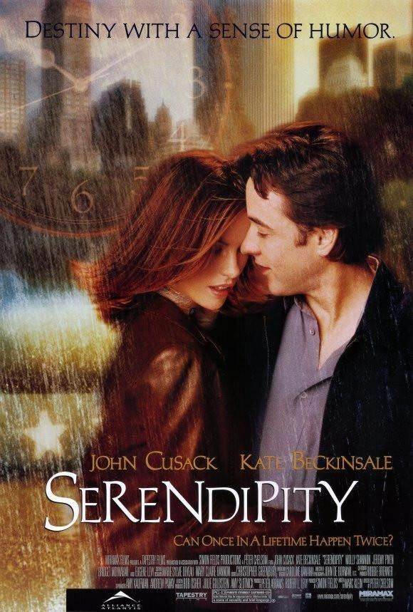 Serendipity 27x40 Movie Poster (2001) #ArethraFranklin