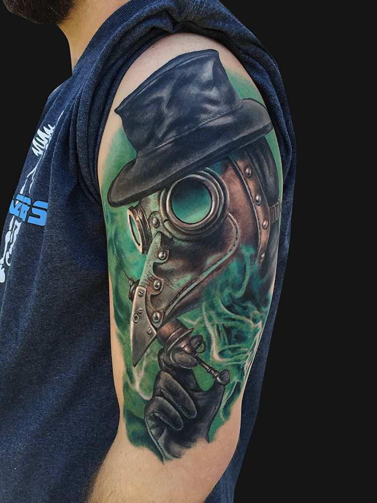 Plague Doctor Tattoo Doctor tattoo, Steampunk tattoo