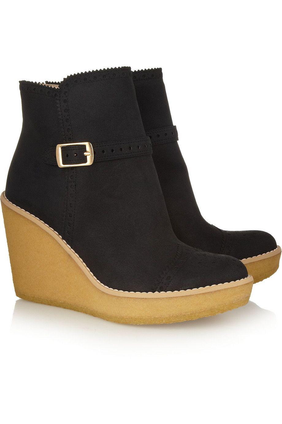 Stella McCartney Vegan Wedge Booties cheap sale footaction cheapest price online 0EEq5