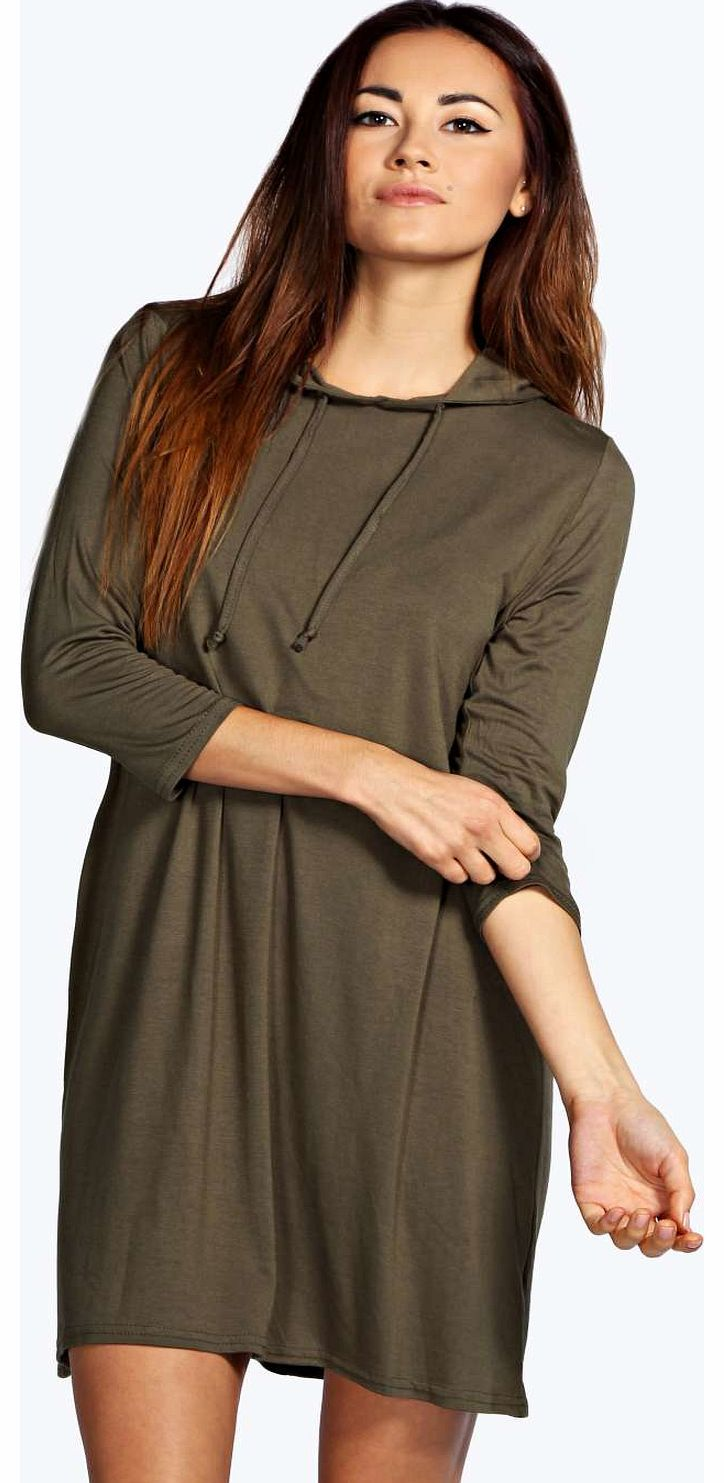 boohoo Jen Hooded Shift Dress - khaki azz16497 No off-duty wardrobe is complete without a casual day dress. Basic bodycon dresses are always a winner and casual cami dresses a key piece for pairing with a polo neck , giving you that effortless eve http://www.comparestoreprices.co.uk/dresses/boohoo-jen-hooded-shift-dress--khaki-azz16497.asp