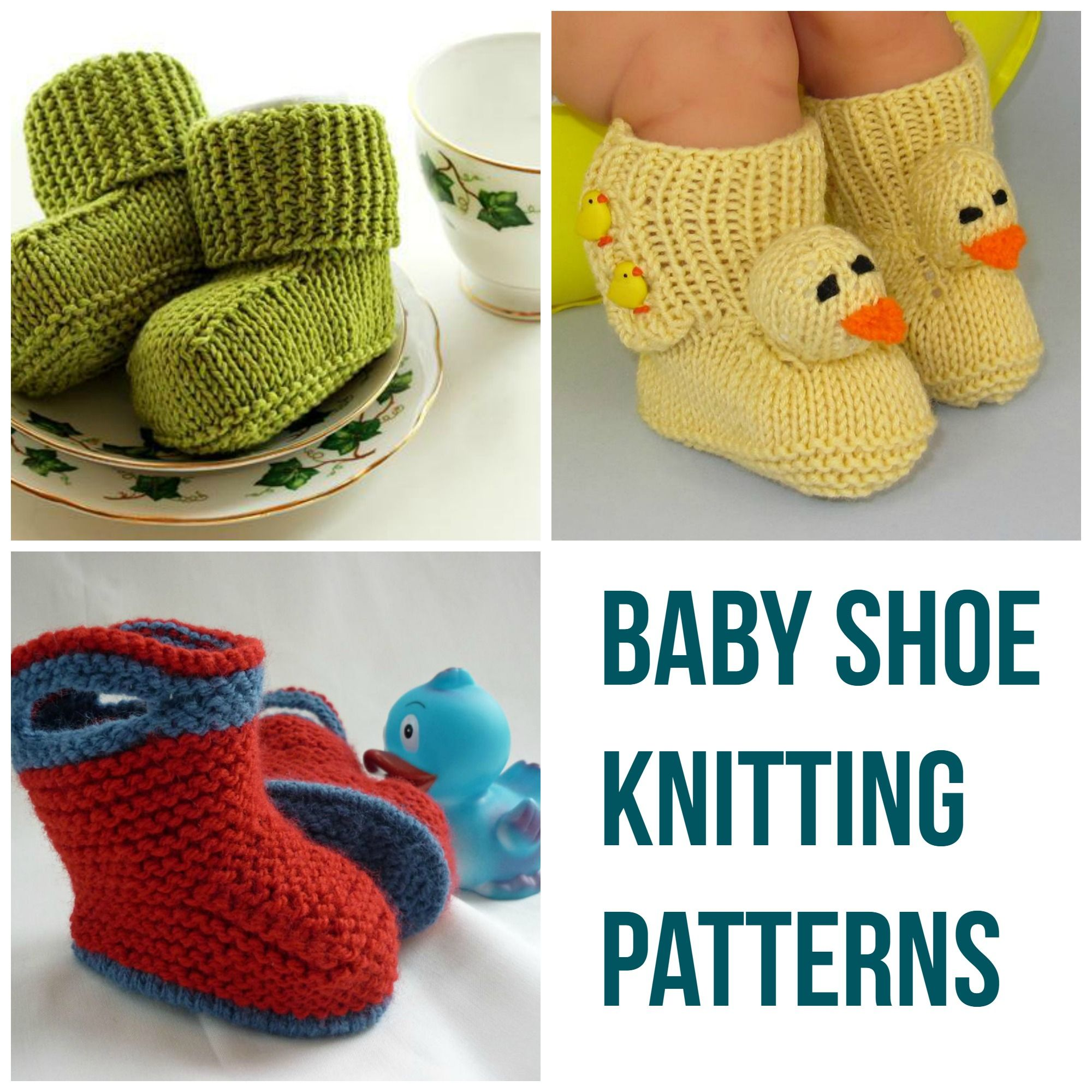 Too-Cute Kicks: Baby Shoe Knitting Patterns   Knitting patterns ...