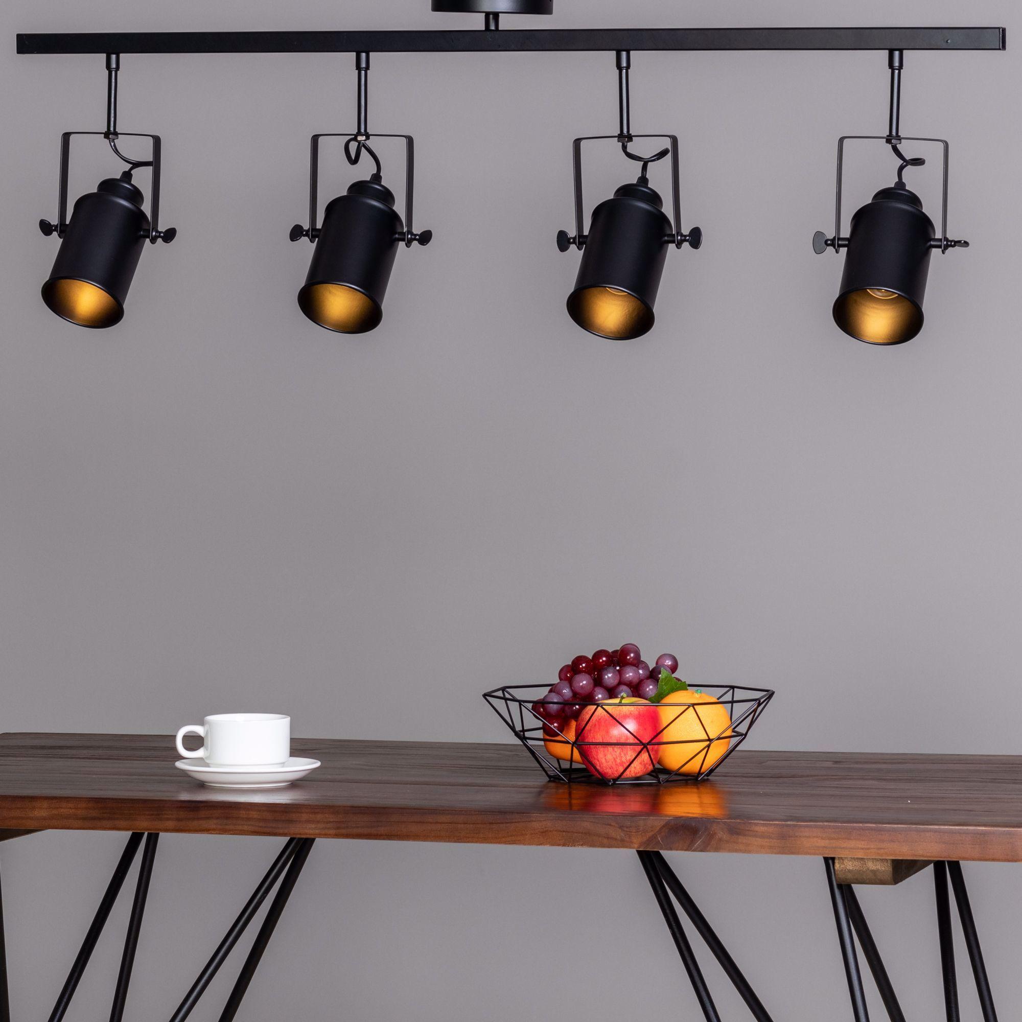 Le Spot Brenta Est Un Luminaire De Style Industriel Qui Rappelle