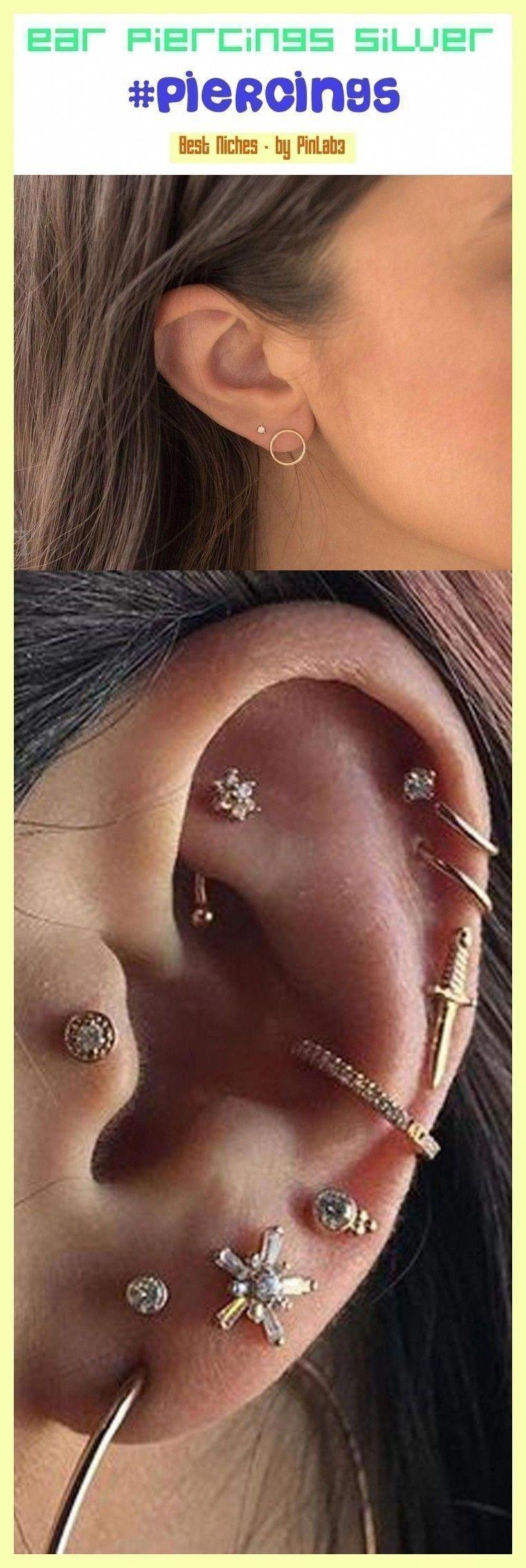 Temporary tattoos multiple ear piercings pretty m