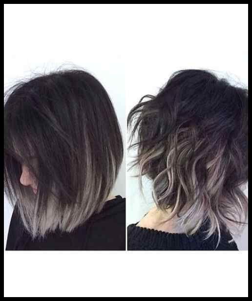 Frisuren kurz ombre