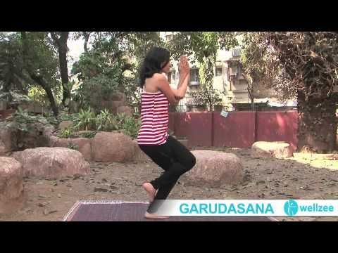 eagle pose with images  eagle pose poses body posture