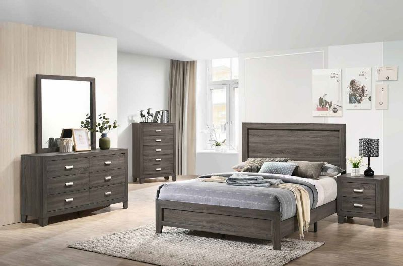 5 Pc House Of Hampton Smedley Anastasia Light Brown Finish Wood Queen Bed Set In 2020 Queen Bedding Sets Bedroom Sets House Of Hampton
