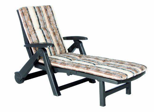 BEST 96401711 Rollliege Charleston inklusive Auflage, D.1017, braun Best