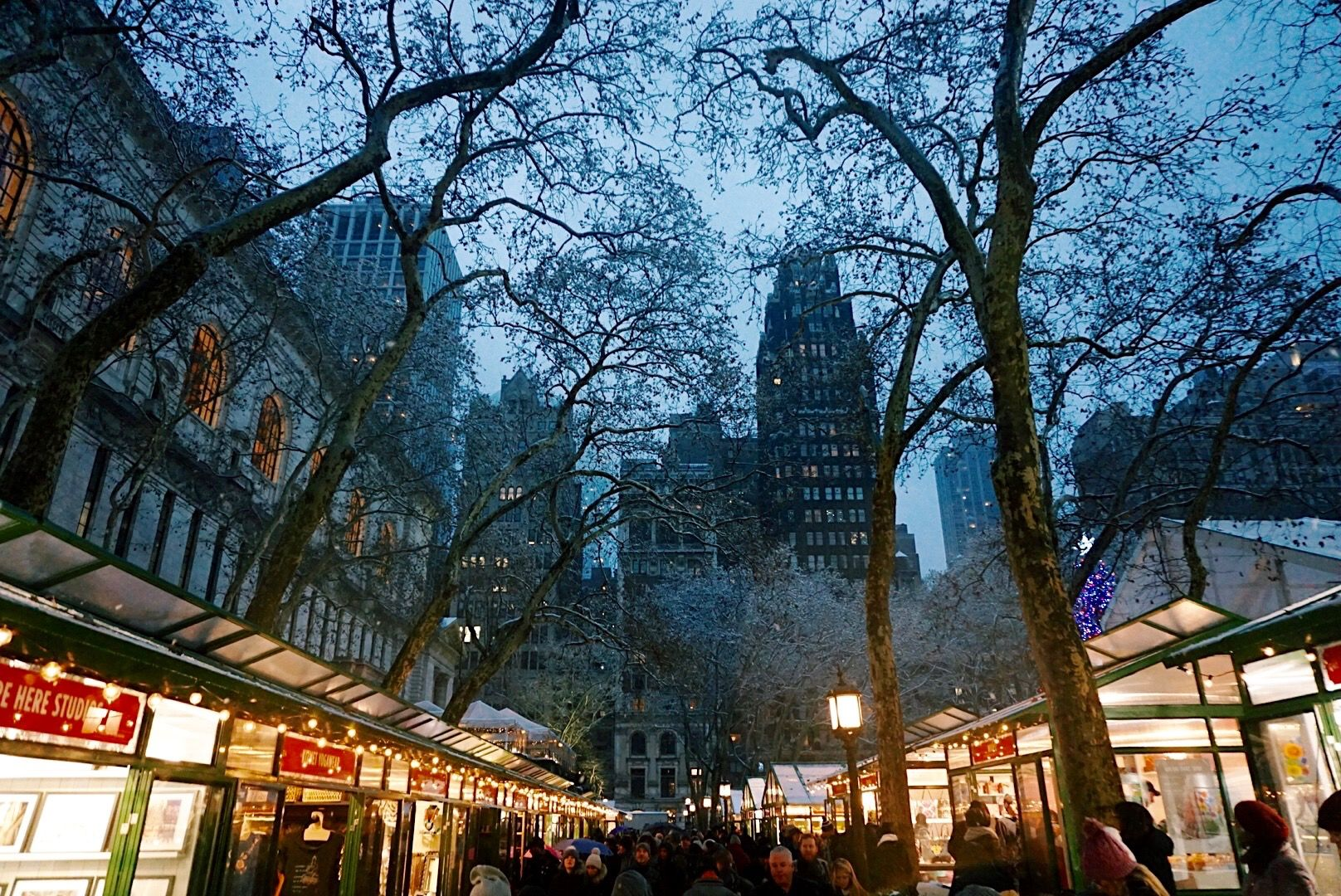 Bryant Park Christmas Market.Christmas In New York City 3 Day Itinerary Cbs News Nyc