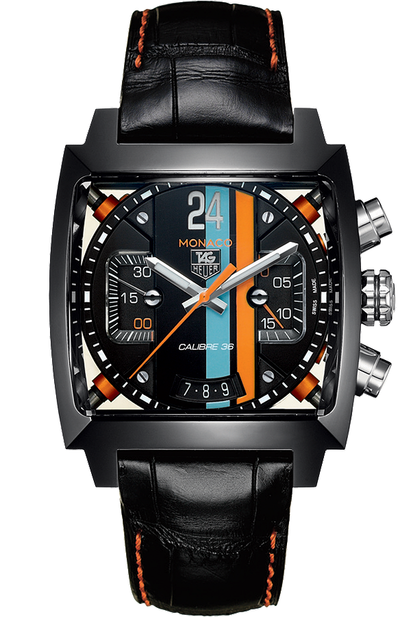 TagHeuer Monaco Automatic Chronograph Titanium Carbide