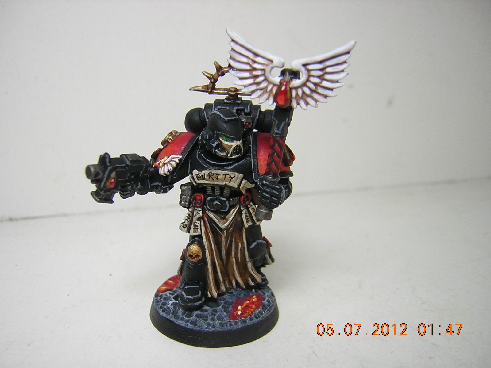 Awesome Chaplain mini, source unknown.