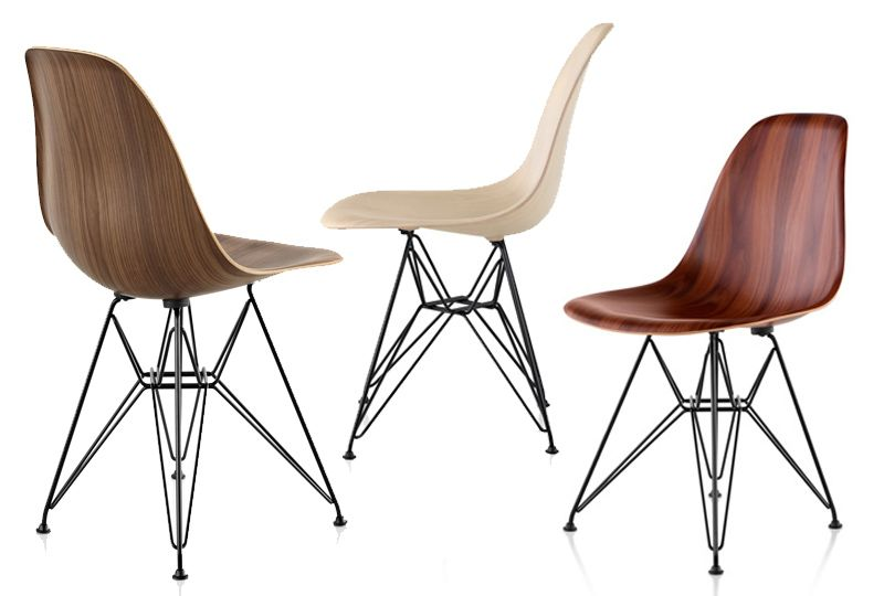 Herman Miller Updates An Eames Classic With Wood The New