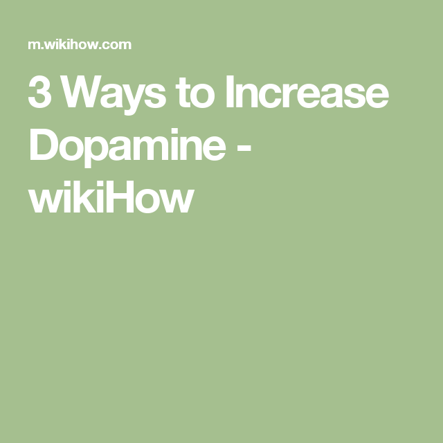 4e10faf607e 3 Ways to Increase Dopamine - wikiHow Cleaning White Vans