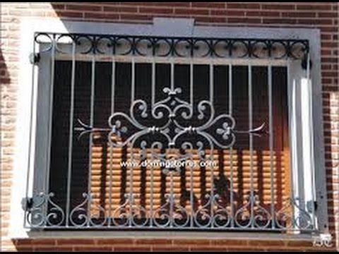 14 Disenos de rejas para ventanas