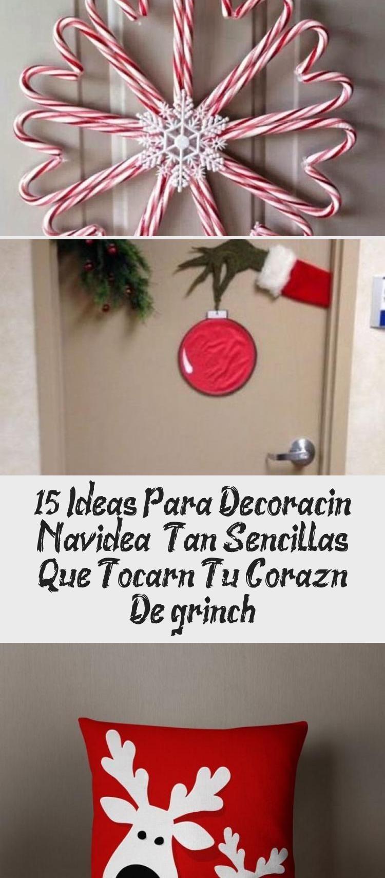 Navidad es la época ideal para demostrar tu creatividad, decorando tu hogar con manualidades fáciles hechas con materiales reciclados. Para lograr hacerlas no se requiere de grandes cantidades de dinero, solo de disposición y un poco de tiempo.  Siguiendo estas ideas puedes crear adornos bonitos, sencillos y prácticos para colocarlos en las puertas, el árbol o en la mesa #HomeDecorDIYVideosProjects #HomeDecorDIYVideosApartment #HomeDecorDIYVideosOnABudget #HomeDecorDIYVideosIdeas #HomeDecorDIYVi