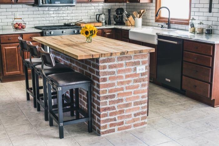 ▷ 1001 + modèle d\u0027implantation cuisine parfaite pour votre espace - Cuisine Moderne Design Avec Ilot