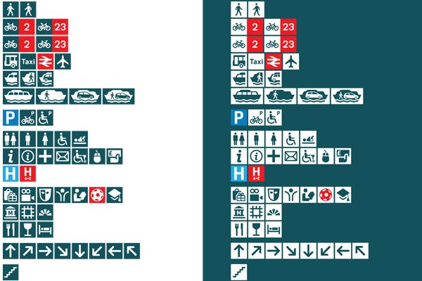 Southampton Legible City pictograms Pictogram, City, Taxi